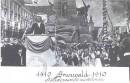 Paderewski dedicates Grunwald monument July 15, 1910