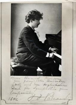 Photo Credit:  Paderewski at Piano-1892, www.ClevelandMemory.org