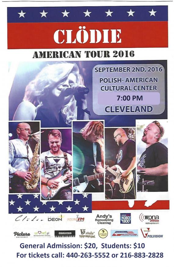 Clodie 2016 tour