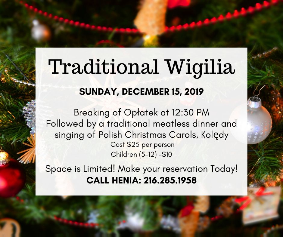 Traditional Wigilia 2019